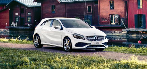 Mercedes-Benz A-sarja Suomi 100 Edition