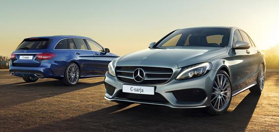 Mercedes-Benz C-sarjan malleihin 4Matic-neliveto 990 €