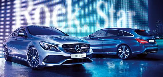 Mercedes-Benz CLA Coupé ja CLA Shooting Brake –malleihin nyt 3 vuoden huollot veloituksetta!